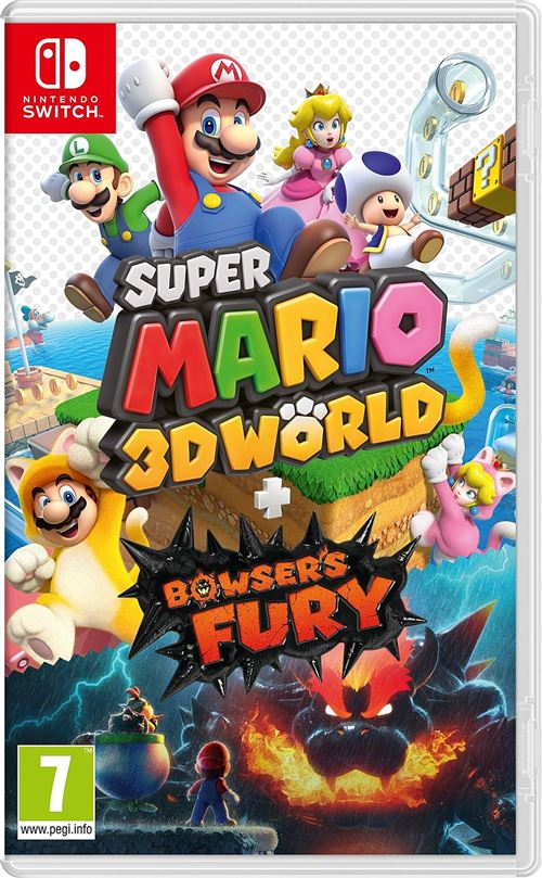 Super Mario 3D World + Bowser s Fury Nintendo Switch
