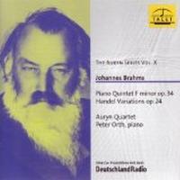 Johannes Brahms: Auryn Series Vol.10