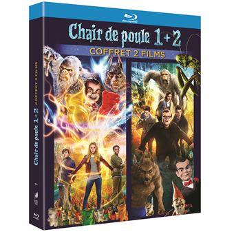 Coffret Chair De Poule 1 Et 2 Blu Ray