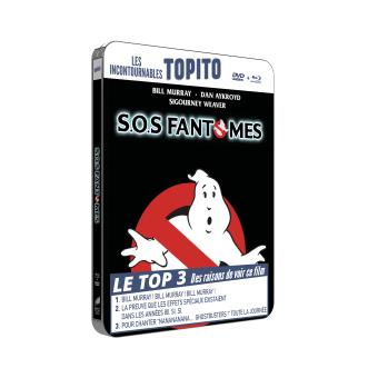 S.O.S. Fantômes Boîtier métal Combo Blu-ray + DVD