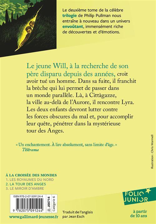La Tour Des Anges a la croisée des mondes - tome 2 - la tour des anges - philip