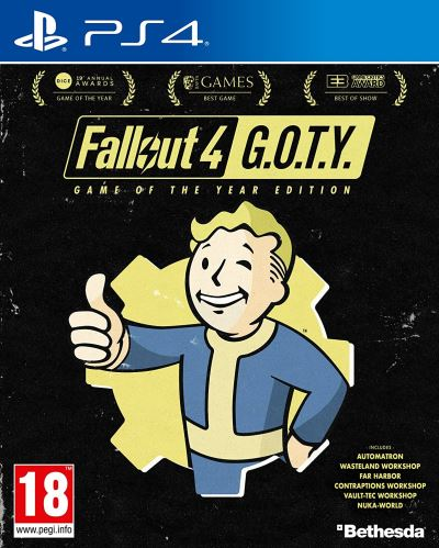 Fallout 4 Edition Game Of The Year PS4