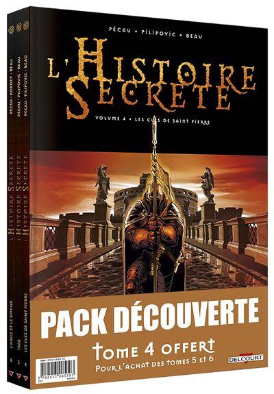 Histoire secrète pack T4 édition HC + T5 +