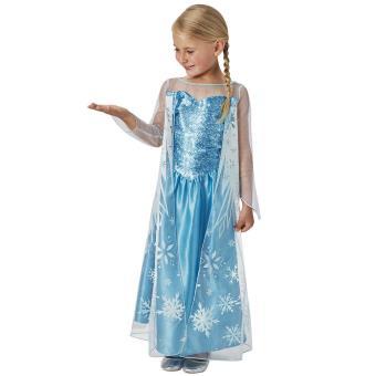 Déguisement classique Elsa Disney Taille L