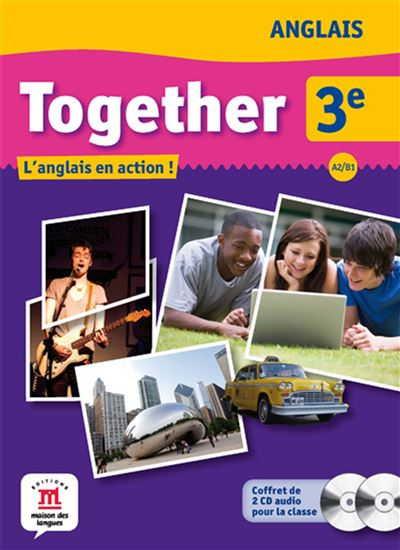 Together 3e - coffret 2 cd audio classe