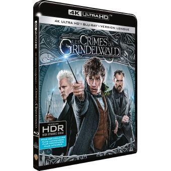 Les Animaux FantastiquesLes Animaux fantastiques : Les Crimes de Grindelwald Blu-ray 4K Ultra HD
