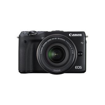 Canon EOS M3 Hybride Camera + Lens EF-M 18-55mm IS STM