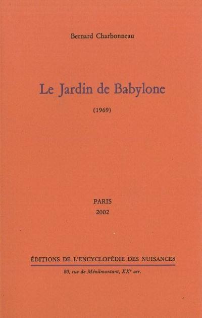 Le Jardin de Babylone