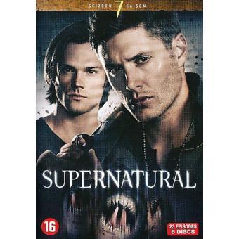 SupernaturalCoffret intégral de la Saison 7 - DVD