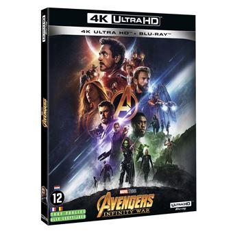 AvengersAvengers : Infinity War Blu-ray 4K Ultra HD