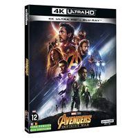 Avengers : Infinity War Blu-ray 4K Ultra HD