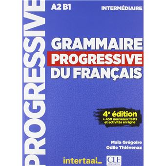 Grammaire progressive du français Niveau intermédiaire + CD 4ed - Intertaal