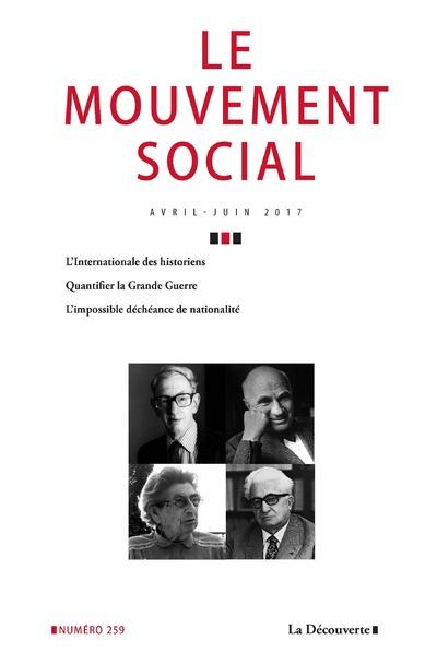 Le mouvement social numéro 259 Varia
