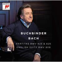Partitas BWV 825 & 826 english suite BWV 808
