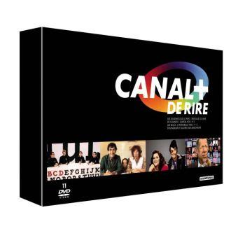 Coffret Canal+ de rire DVD
