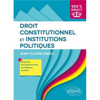 Constitutionnel Institutions Et Politiques Institutions Droit Droit Constitutionnel Et j5ALc3R4q