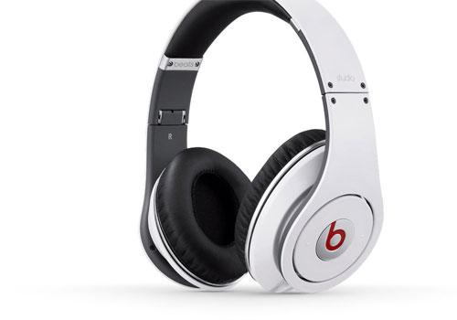 Beats Studio by Dr Dre Blanc