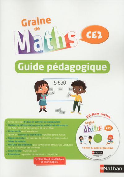 Graine de Maths - Guide pédagogique CE 2 + CD 2017