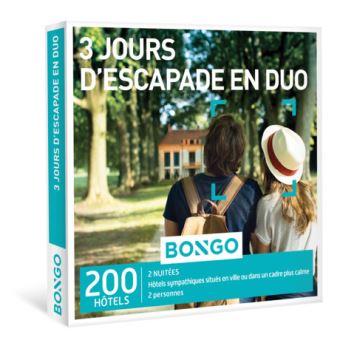 Bongo FR 3 Jours D'escapade en Duo