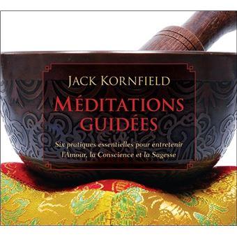 m ditations guid es livre audio 2 cd textes lus jack kornfield livre tous les livres la. Black Bedroom Furniture Sets. Home Design Ideas
