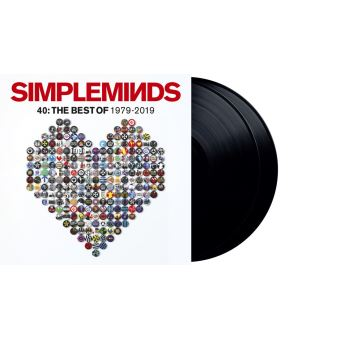 Forty: The Best of Simple Minds 1979-2019 - 2LP 12''