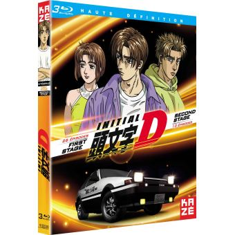 Initial DINITAL D : INTÉGRALE FIRST STAGE + SECOND STAGE-BLURAY-FR