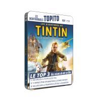 Les aventures de Tintin Le secret de la licorne Boîtier métal Combo Blu-ray + DVD