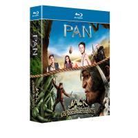 Coffret Pan, Jack et le chasseur de géants Blu-ray