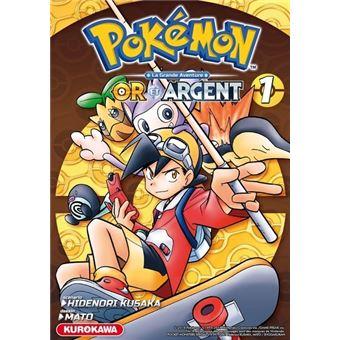 Les Pokemon Tome 1 Pokemon Or Et Argent