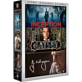 Leonardo Dicaprio Coffret 3 films DVD
