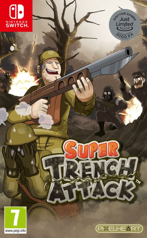 Super Trench Attack Just Limited Nintendo Switch