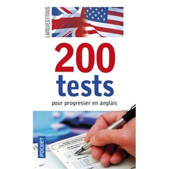 200 tests pour progesser anglais poche michel. Black Bedroom Furniture Sets. Home Design Ideas