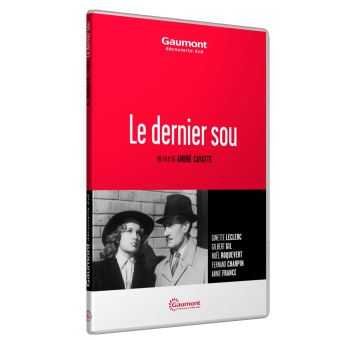 Le Dernier sou DVD