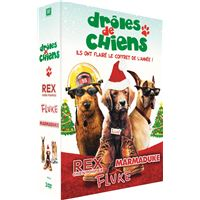 Coffret Drôles de chiens 3 films DVD