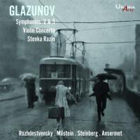 Glazounov : Symphonies numéros 2 et 3, Concerto pour violon, Stenka Razine