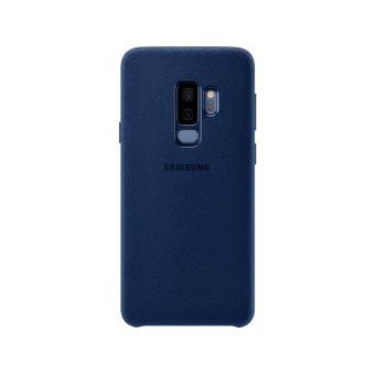 SAMSUNG S9+ ALCANTARA COVER BLUE