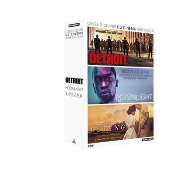 Coffret Chefs-d'œuvre du cinéma américain 3 films DVD