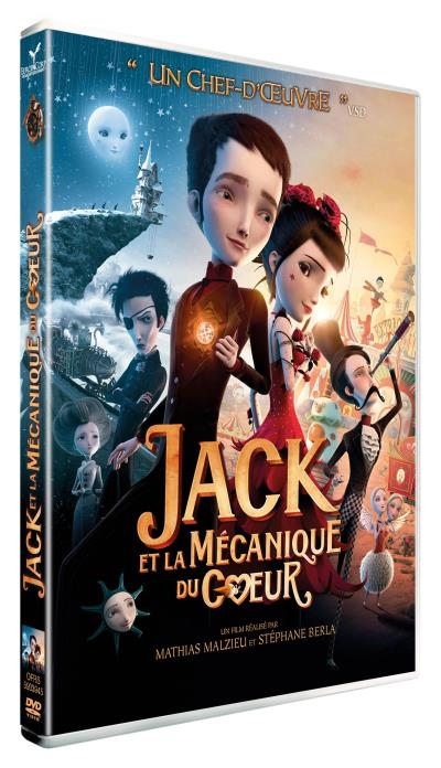 jack et la m canique du coeur dvd st phane berla mathias malzieu dvd zone 2 achat prix. Black Bedroom Furniture Sets. Home Design Ideas