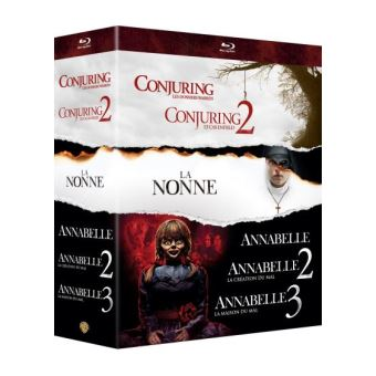 COFFRET CONJURING UNIVERSE 6 FILMS-FR-BLURAY