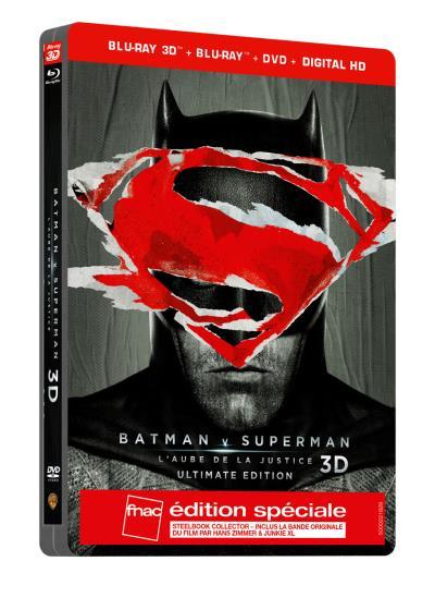 Justice League - Coffret Edition Spéciale Fnac