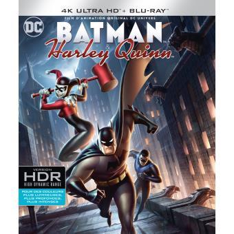Batman animated seriesBatman and Harley Quinn Blu-ray 4K Ultra HD