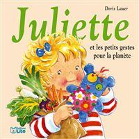Juliette et les petits gestes pour la planete