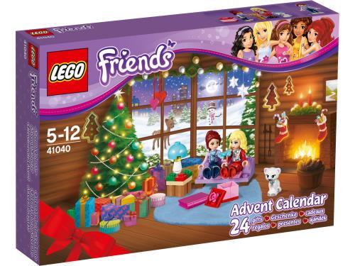Compte à rebours jusqu'à Noël avec LEGO Friends !   En décembre, compte à rebours jusqu'à Noël avec LEGO Friends ! Crée une histoire de Noël en suivant Mia dans son aventure en traîneau ! Repère la vie sauvage dans la forêt, en chemin pour aller retrouver