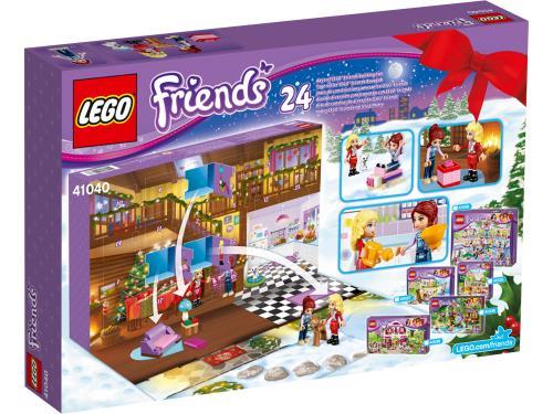 Lego Friends Calendrier De L Avent.Lego Friends 41040 Le Calendrier De L Avent Lego Friends