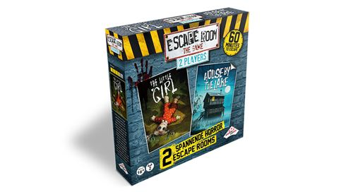 ESCAPE ROOM THE GAME 2 SPELERS HORROR