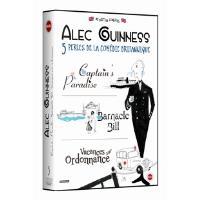 Alec Guinness : 3 perles de la comédies : Captain's Paradise, Barnacle Bill, Vacances sur ordonnance Coffret DVD