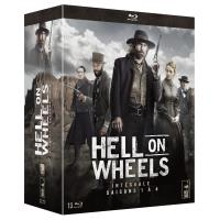 Hell on Wheels L'intégrale des saisons 1 à 4 Blu-ray