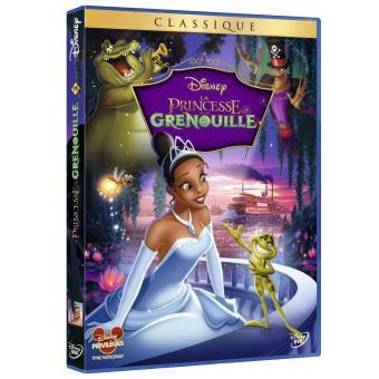 La Princesse et la Grenouille DVD