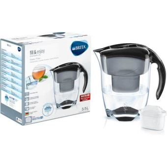 BRITA ELEMARIS XL BLACK MAXTRA+ FILTER CARAFE