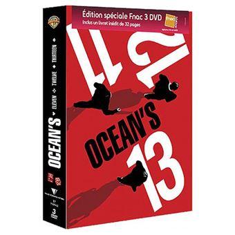 Ocean'SCoffret Ocean's 11 12 13 La Trilogie Edition Spéciale Fnac DVD